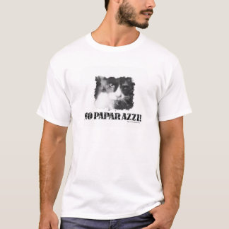 Funny No Paparazzi Cat T-Shirt