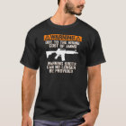 Funny! No Warning Shots T-Shirt
