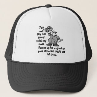 Funny Noise Mechanic Trucker Hat