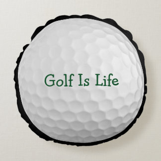 Funny Novelty Golf Theme Pillow