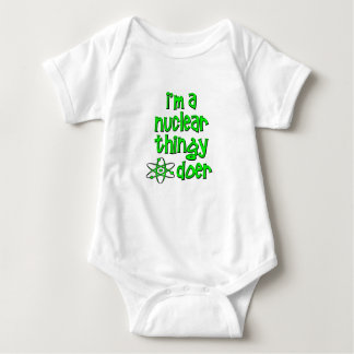 funny nuclear baby bodysuit