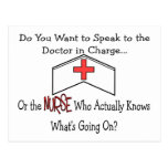 Funny Nurse Gifts Post Cards