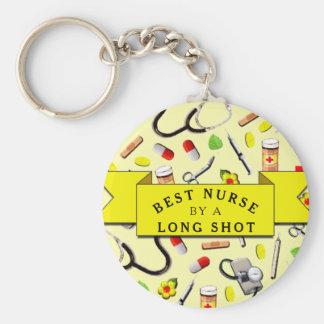 Funny Nurse Keychain