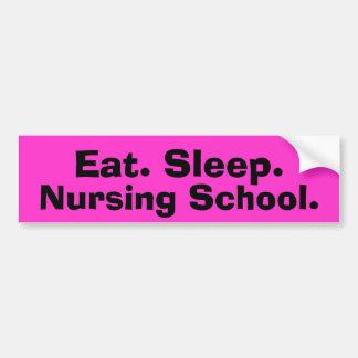 Funny Nursing Student Bumper Sticker