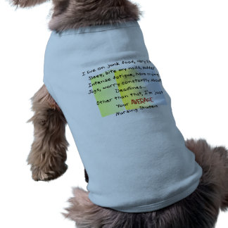 Funny Nursing Student Gifts Dog Clothes