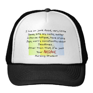 Funny Nursing Student Gifts Hat