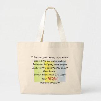 Funny Nursing Student Gifts Jumbo Tote Bag