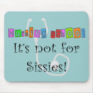 Funny Nursing Student Gifts Mouse Pads