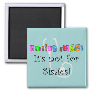 Funny Nursing Student Gifts Square Magnet
