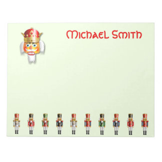 Funny Nutcracker Army Notepad