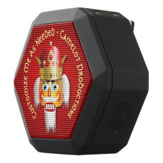 Funny Nutcracker King Black Bluetooth Speaker