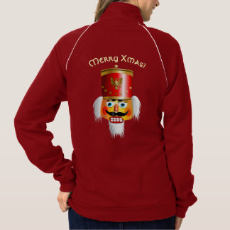 Funny Nutcracker Toy Soldier Cartoon Jacket