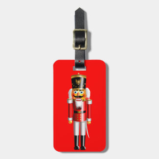 Funny Nutcracker Toy Soldier Luggage Tag