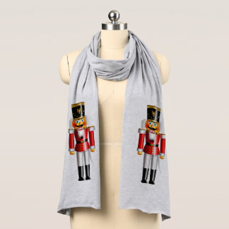 Funny Nutcracker Toy Soldiers Scarf