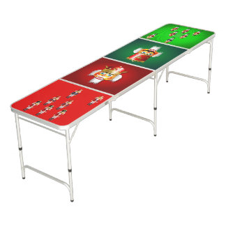 Funny Nutcrackers Toy Soldiers Army Pong Table