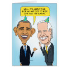 Funny Obama and Biden Farewell Birthday Card