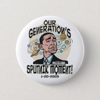 Funny Obama Sputnik Moment 2 Inch Round Button