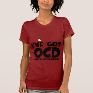 Funny OCD chicken T-Shirt