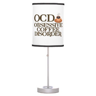 Funny OCD Coffee Desk Lamps
