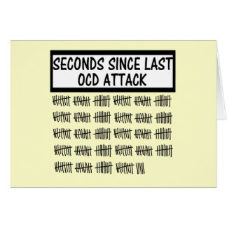 Funny OCD Greeting Card
