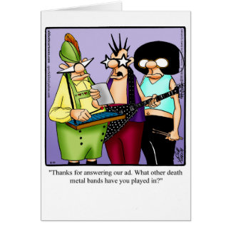 Funny Octoberfest Humor Greeting Card