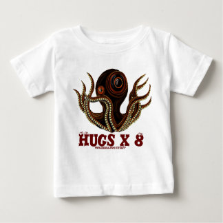 Funny octopus cute baby t-shirt