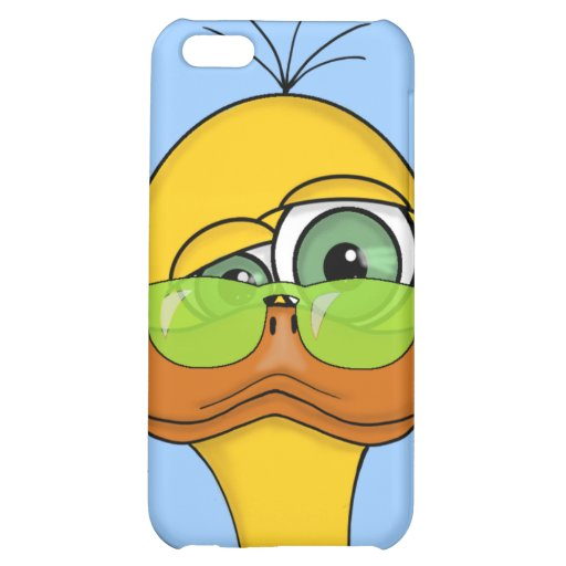 Funny Odd Duck Cartoon iPhone 5C Cover