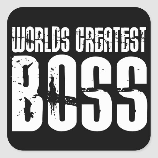 Funny Office Humor Bosses : World's Greatest Boss Stickers