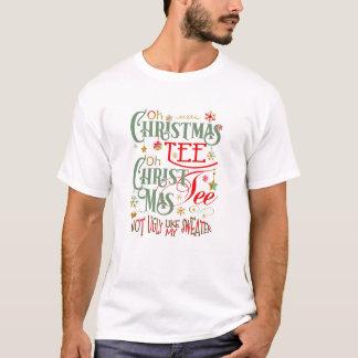 Funny Oh Christmas Tee  ID463