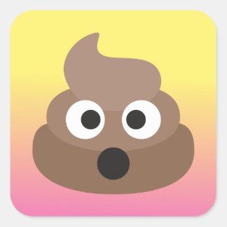 Funny Oh Poop Emoji Stickers
