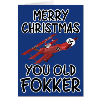Funny old Christmas card
