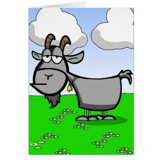 Funny Old Goat Card