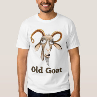 Funny Old Goat Tshirts