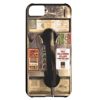 Funny Old Pay Phone iPhone 5C Covers