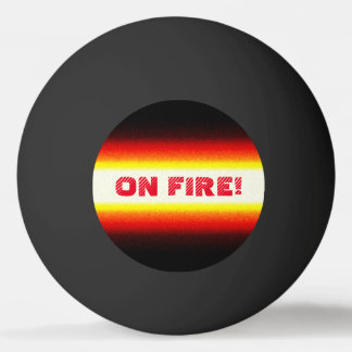 Funny ON FIRE Ping Pong Balls