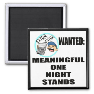 Funny One Night Stand T-shirts Gifts Refrigerator Magnet