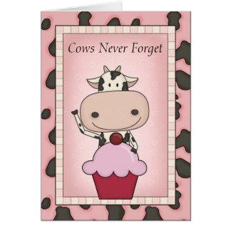 Funny Organic Birthday Wishes Greeting Card