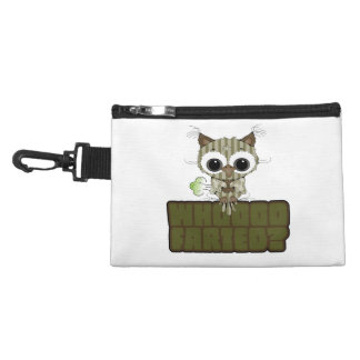Funny Owl Whooo Hoot Farted Accessories Bags
