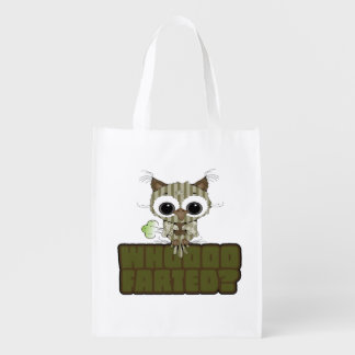 Funny Owl Whooo Hoot Farted Market Tote