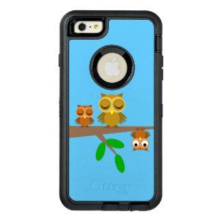 funny owls OtterBox iPhone 6/6s plus case