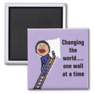 Funny Painter Gift Magnet