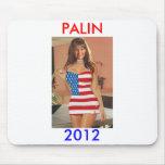 Funny Palin 2012 Mousepad(Anti Obama)Palin t shirt