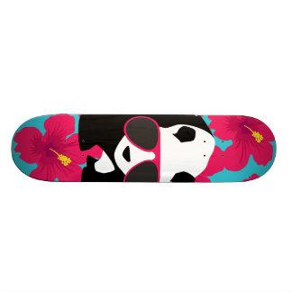 Funny Panda Bear Beach Bum Cool Sunglasses Tropics Skateboard Decks