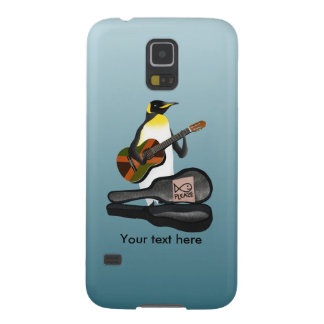 Funny Penguin Busking Galaxy S5 Cover
