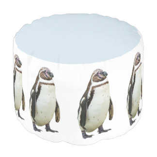Funny Penguin March Pouf