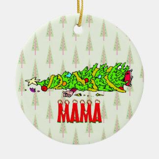 Funny Personalized Christmas Tree Cartoon Christmas Tree Ornaments