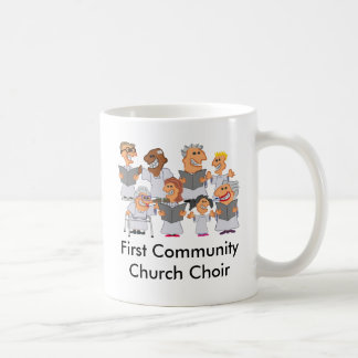 Funny Personalized Church Choir Coffee Mug