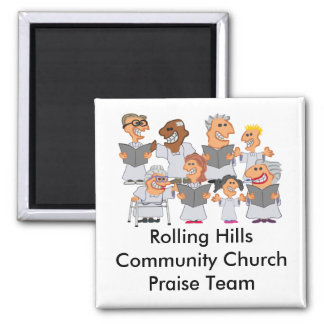 Funny Personalized Church Choir Magnet
