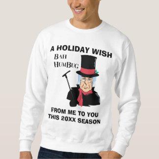 Funny Personalized Holiday Wish Sweatshirt