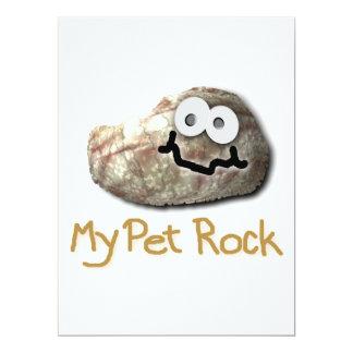 funny pet rock invitations